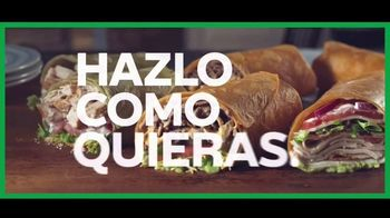 Subway Signature Wraps TV Spot, 'Comer a besos' [Spanish] - Thumbnail 9