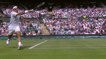 Rolex TV Spot, 'Leaving a Legacy' Featuring Roger Federer - Thumbnail 3