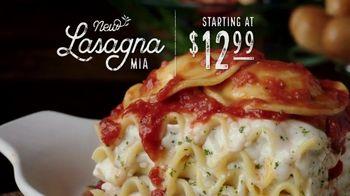 Olive Garden Lasagna Mia TV Spot, 'Urgency'