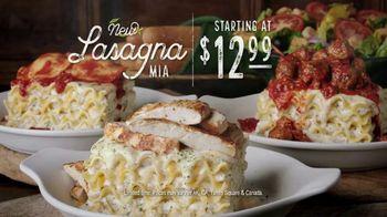 Olive Garden Lasagna Mia TV Spot, 'Urgency' - Thumbnail 7
