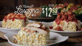 Olive Garden Lasagna Mia TV Spot, 'Urgency' [Spanish] - Thumbnail 7