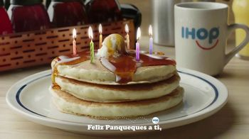 IHOP 60 Cent Short Stacks TV Spot, 'Feliz panqueues' [Spanish]
