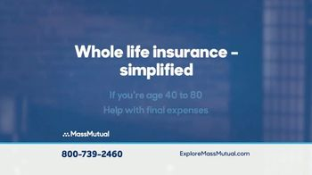 MassMutual Simplified Issue Whole Life Insurance TV Spot, 'Final Expenses' - Thumbnail 3
