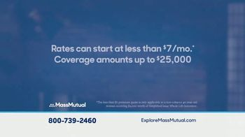 MassMutual Simplified Issue Whole Life Insurance TV Spot, 'Final Expenses' - Thumbnail 6