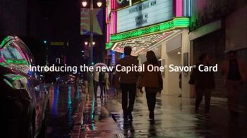 Capital One Savor Credit Card TV Spot, 'You and Me' Song by Whitney Houston - Thumbnail 2