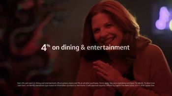 Capital One Savor Credit Card TV Spot, 'You and Me' Song by Whitney Houston - Thumbnail 9