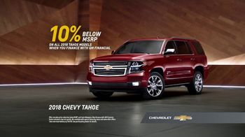 2018 Chevrolet Tahoe TV Spot, 'That's My Chevy' [T2] - Thumbnail 8