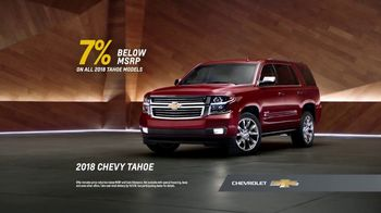 2018 Chevrolet Tahoe TV Spot, 'That's My Chevy' [T2] - Thumbnail 7