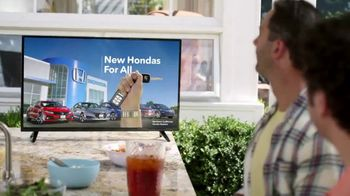 New Hondas For All Sales Event TV Spot, 'Irony' [T2] - Thumbnail 6