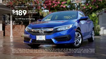 New Hondas For All Sales Event TV Spot, 'Irony' [T2] - Thumbnail 7