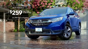 New Hondas For All Sales Event TV Spot, 'Irony' [T2] - Thumbnail 8