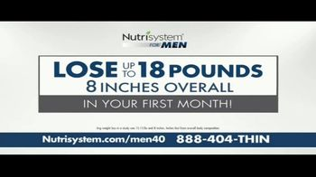 Nutrisystem for Men TV Spot, 'It's Your Time' - Thumbnail 6