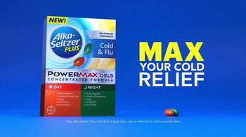 Alka-Seltzer Plus Maximum Strength Day & Night Cold & Flu Powermax Gels TV Spot, 'My Cold' - Thumbnail 10