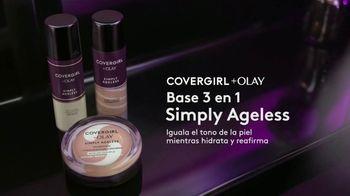 CoverGirl + Olay Simply Ageless Foundation TV Spot, '¿A qué edad?' con Maye Musk [Spanish] - Thumbnail 6