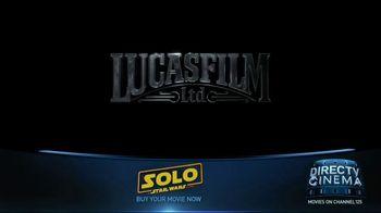 DIRECTV Cinema TV Spot, 'Solo: A Star Wars Story' - Thumbnail 1