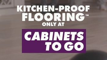 Cabinets To Go Kitchen-Proof Flooring TV Spot, 'Tests' - Thumbnail 10