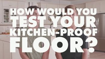 Cabinets To Go Kitchen-Proof Flooring TV Spot, 'Tests' - Thumbnail 2