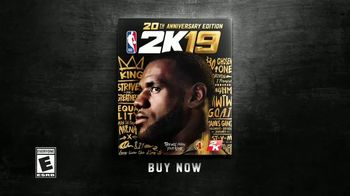 NBA 2K19 TV Spot, 'Know Your Name' Featuring Lebron James - Thumbnail 7