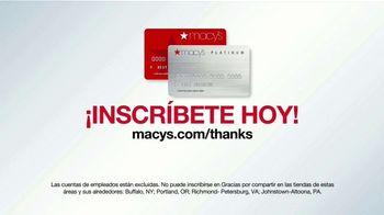 Macy's Star Rewards TV Spot, 'Gracias por Compartir: más beneficios' [Spanish] - Thumbnail 6