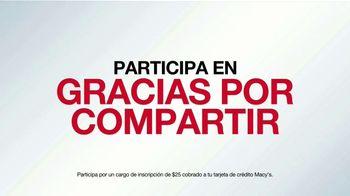 Macy's Star Rewards TV Spot, 'Gracias por Compartir: más beneficios' [Spanish] - Thumbnail 3