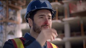 Vicks DayQuil Severe VapoCOOL  TV Spot, 'Coro de construcción' [Spanish]