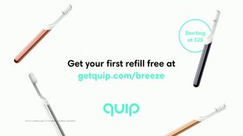 Quip Electric Toothbrush TV Spot, 'Breeze' - Thumbnail 9