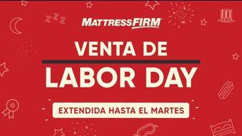 Mattress Firm Venta de Labor Day TV Spot, 'Colchones: $37' [Spanish] - Thumbnail 1