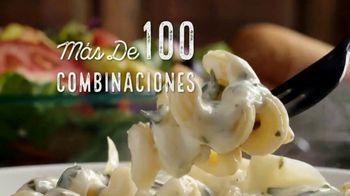 Olive Garden Never Ending Pasta Bowl TV Spot, '100 combinaciones' [Spanish] - Thumbnail 3