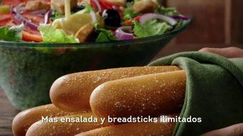 Olive Garden Never Ending Pasta Bowl TV Spot, '100 combinaciones' [Spanish] - Thumbnail 7
