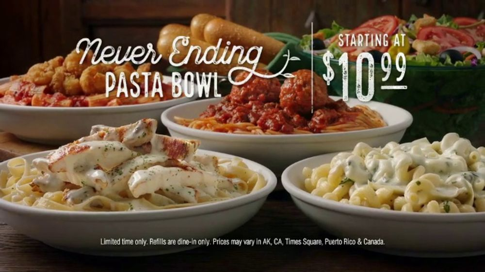 olive garden tv commercials ispottv - Olive Garden State College