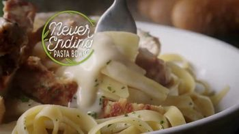 Olive Garden Never Ending Pasta Bowl TV Spot, 'Over 100 Combinations' - Thumbnail 1