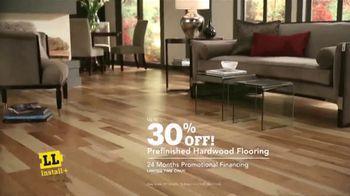 Lumber Liquidators Professional Flooring Installation TV Spot, 'Fresh Look' - Thumbnail 9