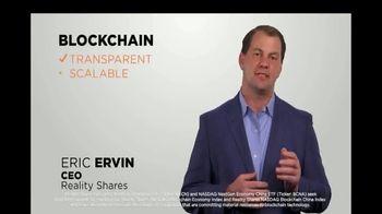 Reality Shares Blockchain ETFs TV Spot, 'Tickers: BLCN & BCNA' - Thumbnail 1