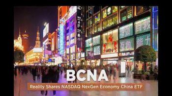 Reality Shares Blockchain ETFs TV Spot, 'Tickers: BLCN & BCNA'