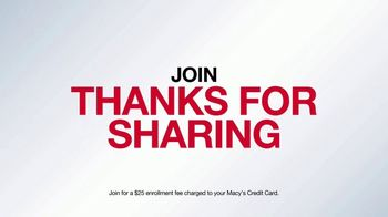 Macy's Thanks for Sharing TV Spot, 'Get More Rewards' - Thumbnail 3