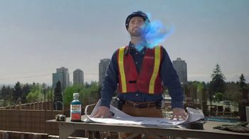 Vicks Dayquil Severe VapoCOOL TV Spot, 'Construction Choir' - Thumbnail 7