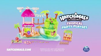 Hatchimals CollEGGtibles Tropical Party Playset TV Spot, 'Shine' - Thumbnail 10