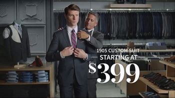 JoS. A. Bank 1905 Custom Suit TV Spot, 'Personal Touches' - Thumbnail 8