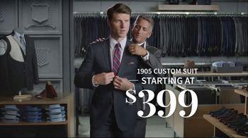 JoS. A. Bank 1905 Custom Suit TV Spot, 'Personal Touches' - Thumbnail 9