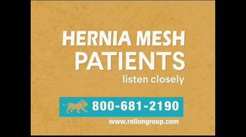 Relion Group TV Spot, 'Hernia Surgical Mesh Settlement' - Thumbnail 2