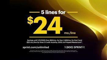 Sprint Unlimited Basic TV Spot, 'Best Deal Ever' - Thumbnail 3