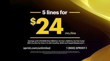 Sprint Unlimited Basic TV Spot, 'Best Deal Ever' - Thumbnail 4
