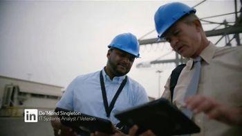 LinkedIn TV Spot, 'In It to Save the Day: De'Mond Singleton' - Thumbnail 8