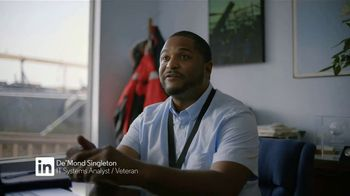LinkedIn TV Spot, 'In It to Save the Day: De'Mond Singleton' - Thumbnail 9