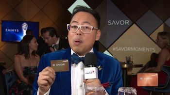 Capital One Savor Card TV Spot, '2018 Emmys: Toast' Featuring Nico Santos - Thumbnail 10