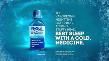 Vicks NyQuil Severe VapoCool TV Spot, 'Nasty Cold' - Thumbnail 10