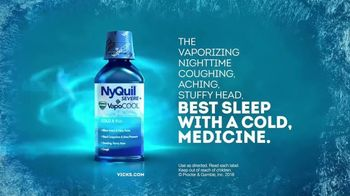Vicks NyQuil Severe VapoCool TV Spot, 'Nasty Cold' - Thumbnail 9