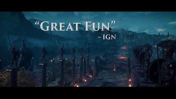 Assassin's Creed Odyssey TV Spot, 'Gameplay' - Thumbnail 2
