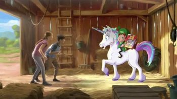 Lucky Charms Magical Unicorn Marshmallow TV Spot, 'Sneeze' - Thumbnail 2