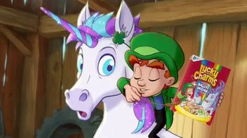 Lucky Charms Magical Unicorn Marshmallow TV Spot, 'Sneeze' - Thumbnail 4